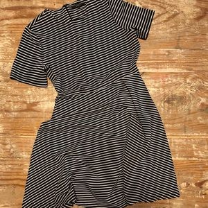 Alex Marie B&W striped dress